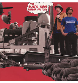 RK The Black Keys - Rubber Factory LP