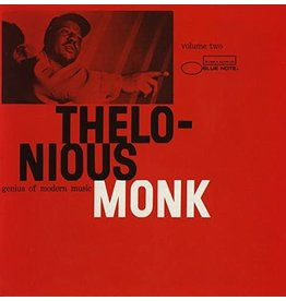 JZ Thelonious Monk ‎– Genius Of Modern Music Volume Two LP