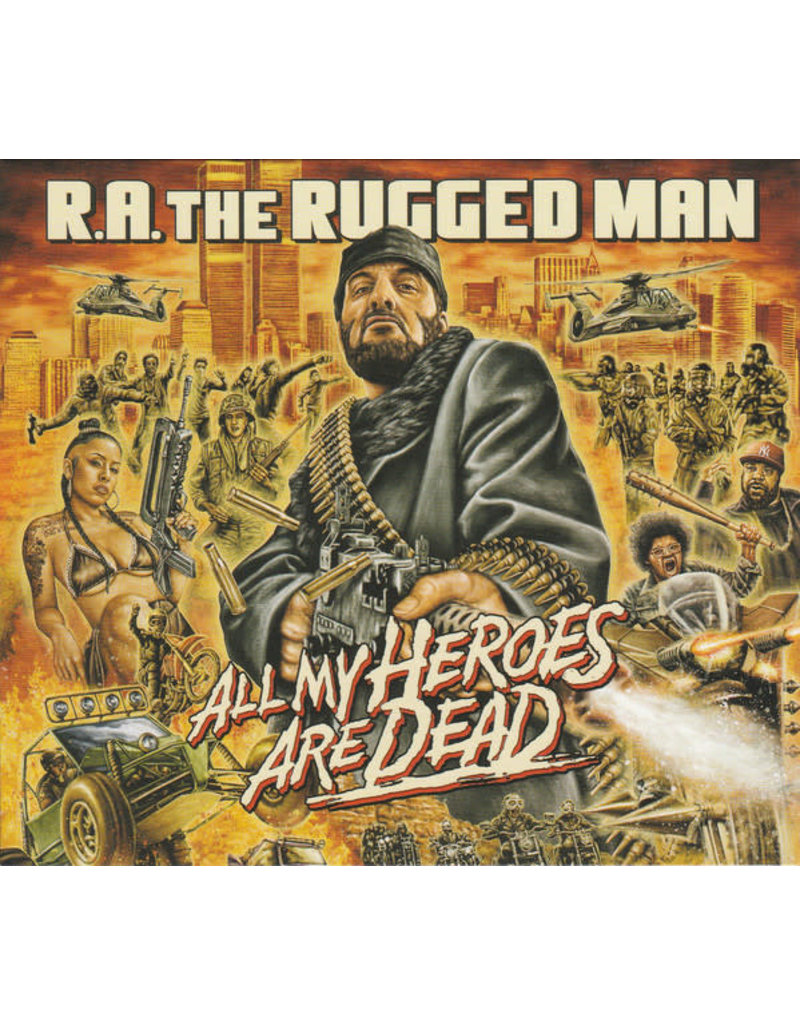 R.A. The Rugged Man ‎– All My Heroes Are Dead CD
