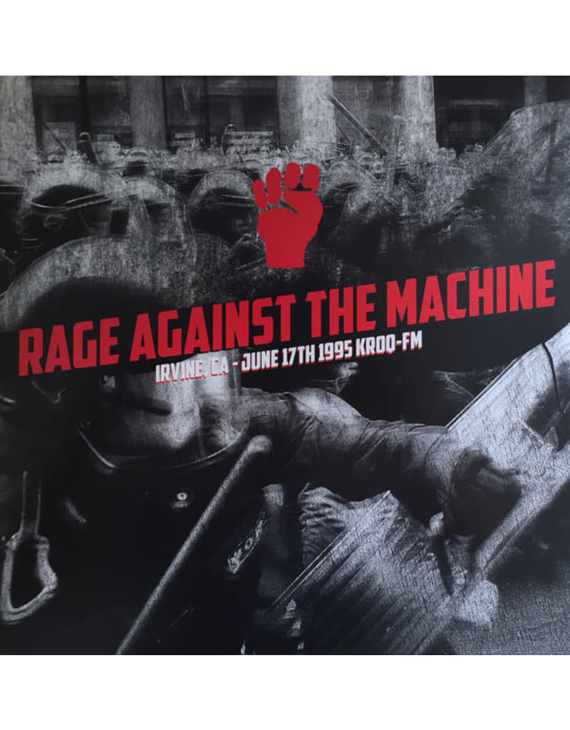 RK Rage Against The Machine - Irvine, CA June 17 1995 KROQ-FM LP