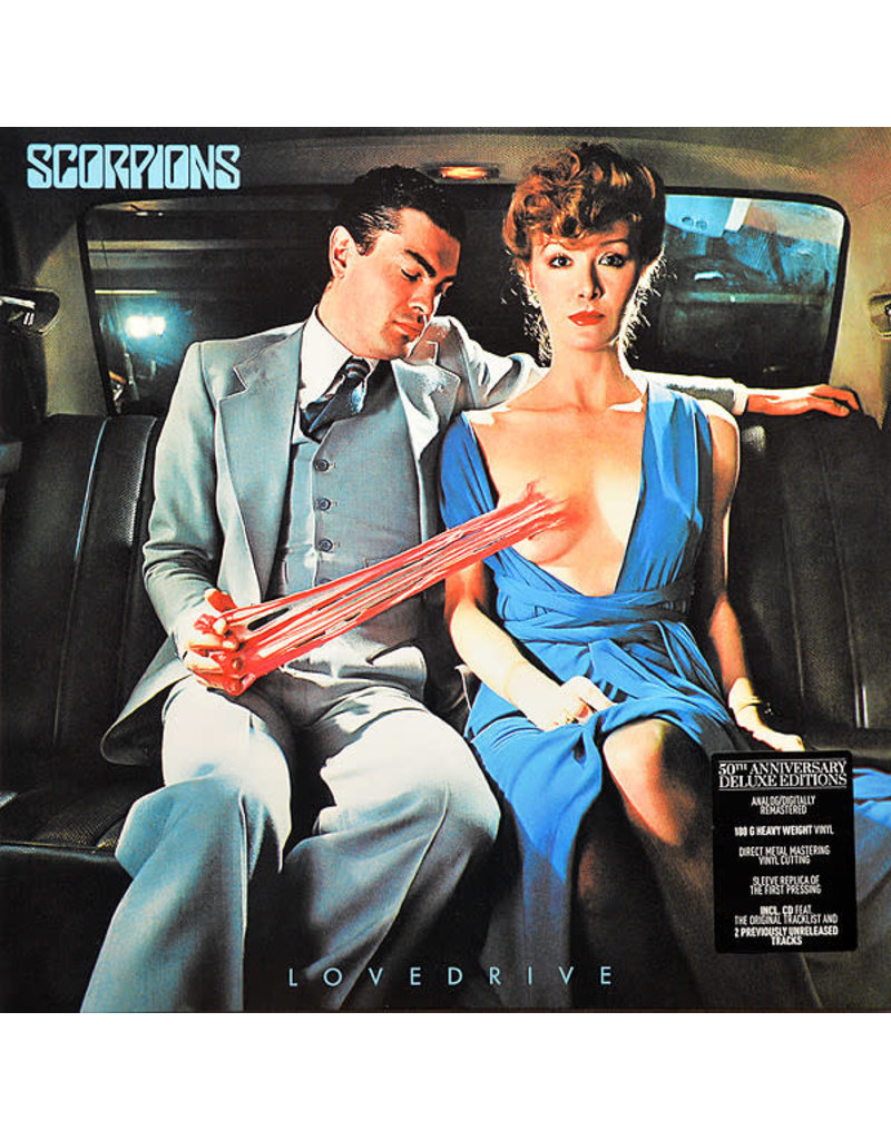 RK Scorpions – Lovedrive LP+CD (2015 Reissue), Deluxe, 180g
