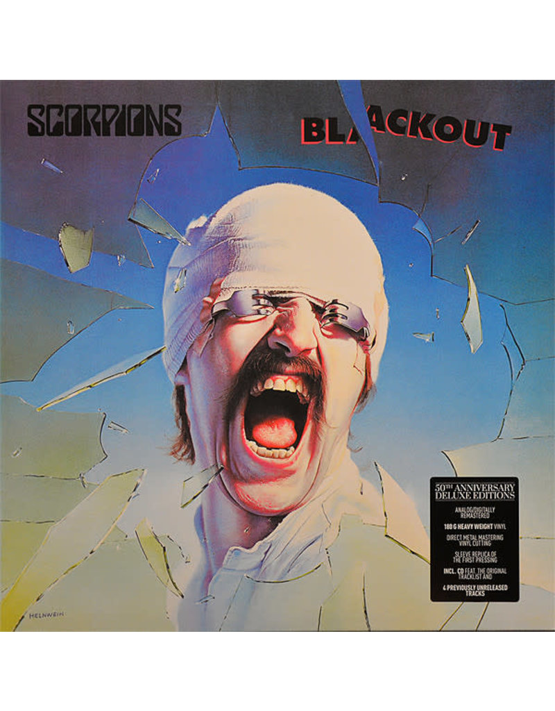 RK Scorpions ‎– Blackout LP+CD (2015 Reissue), Deluxe, 180g