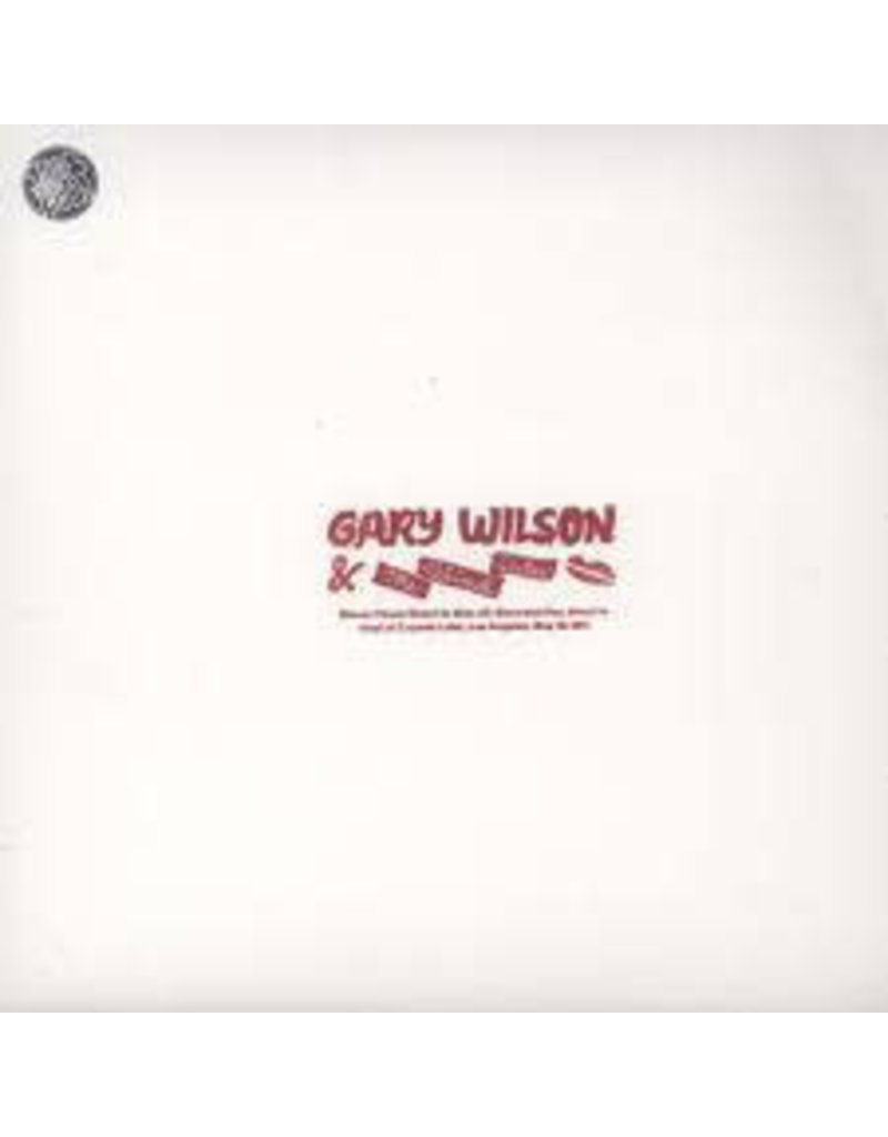 FS Gary Wilson & The Blind Dates ‎– Stones Throw Direct To Disc #2 LP