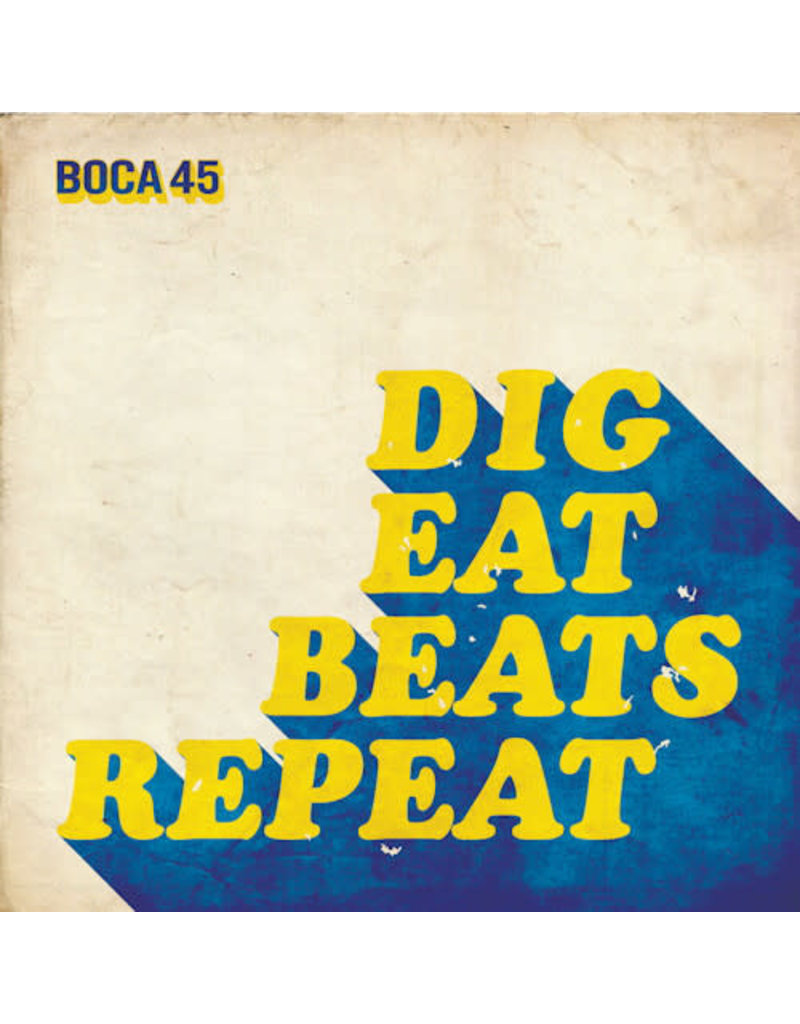 HH Boca 45 ‎– Dig Eat Beats Repeat LP