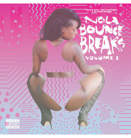 BB Quickie Mart, Tony Skratchere, DJ Yamin ‎– NOLA Bounce Breaks V​olume 2 LP