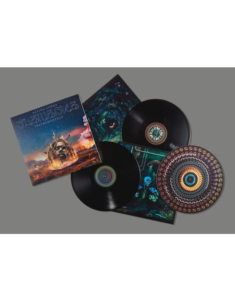 Flying Lotus ‎– Flamagra Instrumentals 2LP