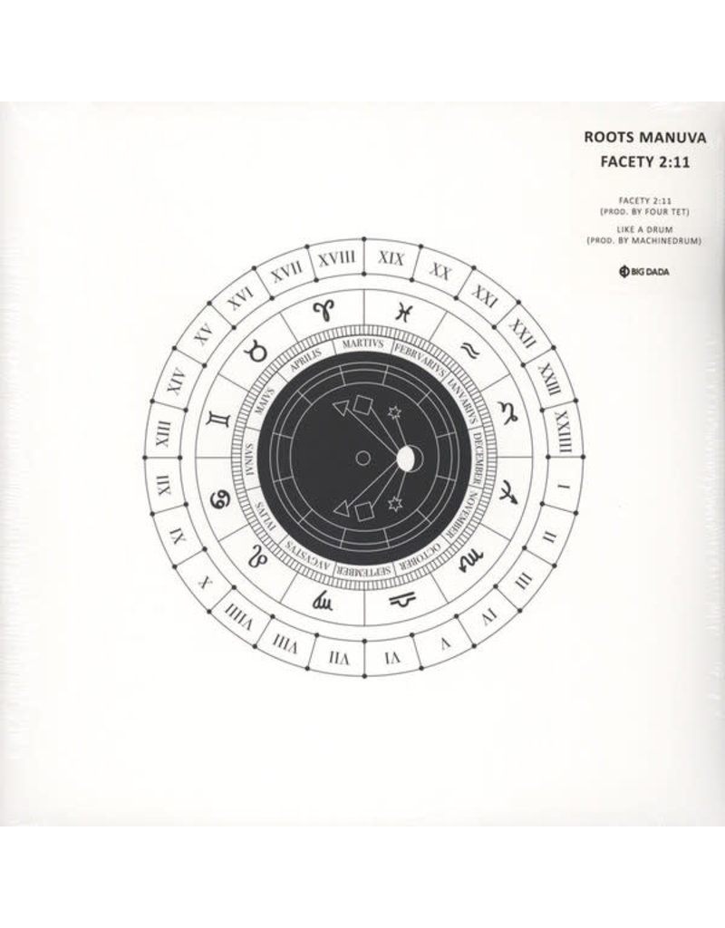HH Roots Manuva ‎– Facety 2:11 12""