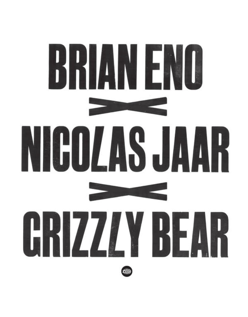 """EL Brian Eno x Nicolas Jaar x Grizzly Bear – Brian Eno x Nicolas Jaar x Grizzly Bear 12"""""""