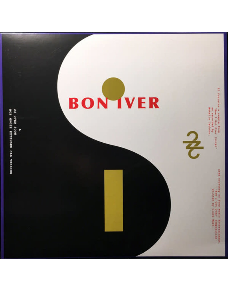 "RK Bon Iver – 22 / 10 12"""