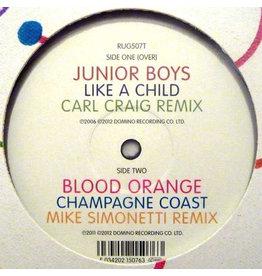 "Junior Boys / Blood Orange – Motion Sickness Part 1 12"""