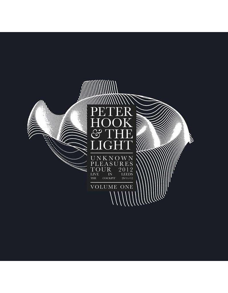 RK Peter Hook & The Light ‎– Unknown Pleasures Tour 2012 Live In Leeds Volume Three LP