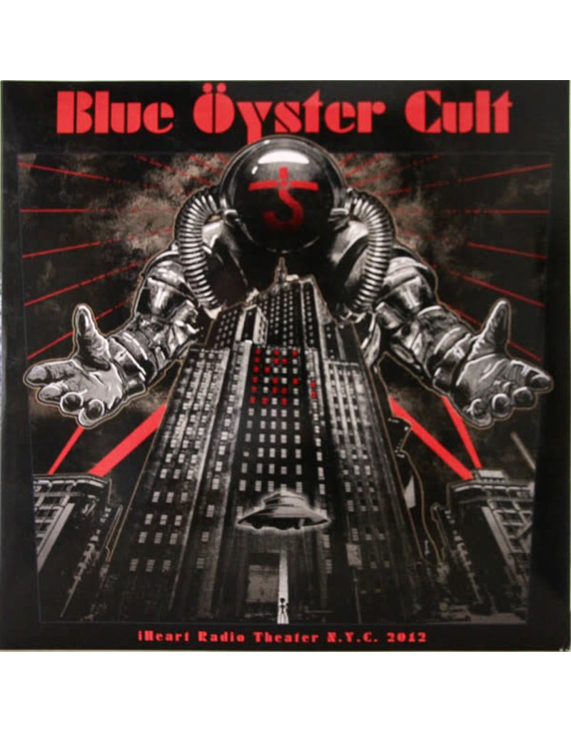 Blue Oyster Cult ‎– iHeart Radio Theater N.Y.C. 2012 2LP