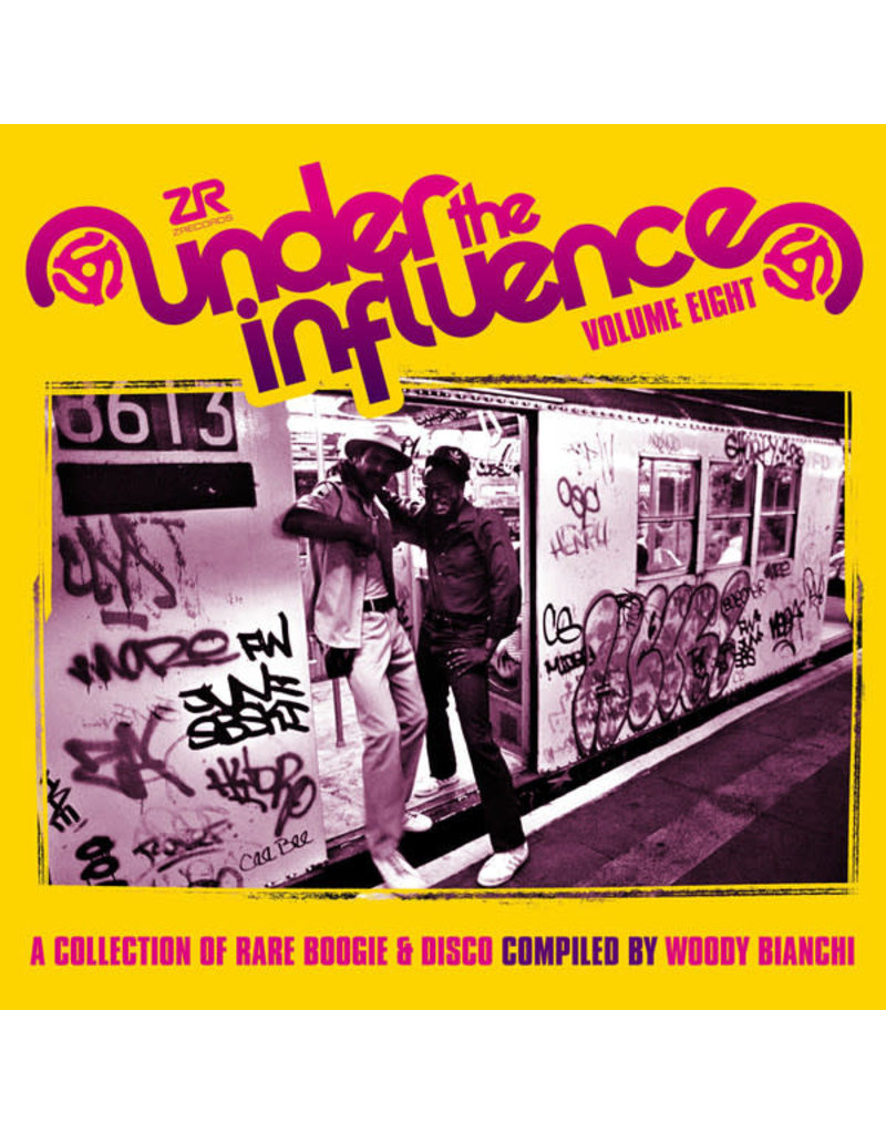 Woody Bianchi – Under The Influence Volume Eight (A Collection Of Rare Boogie & Disco) 2LP