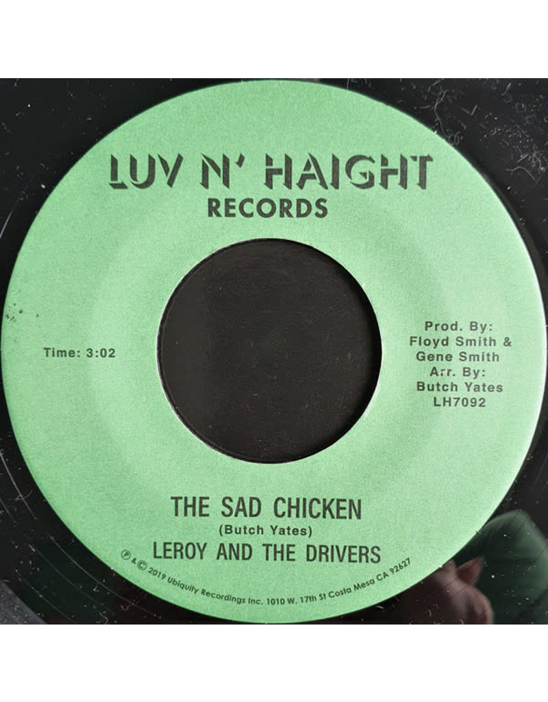 Leroy And The Drivers ‎– The Sad Chicken 7""