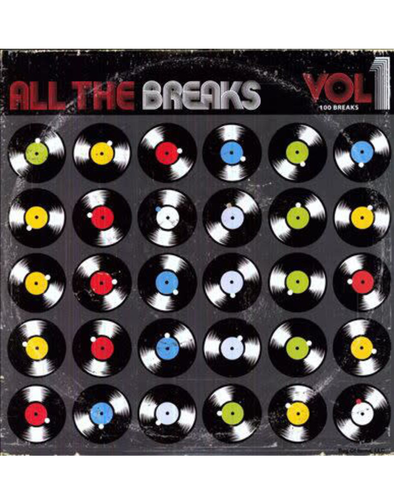BB Various ‎– All The Breaks Vol. 1 LP
