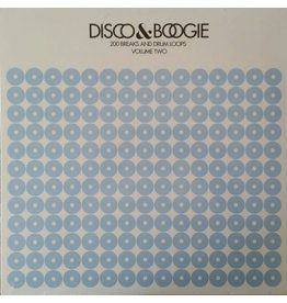 BB Various – Disco & Boogie: 200 Breaks And Drum Loops Volume 2 LP