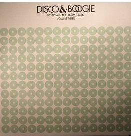 BB Various ‎– Disco & Boogie: 200 Breaks And Drum Loops Volume 3 LP