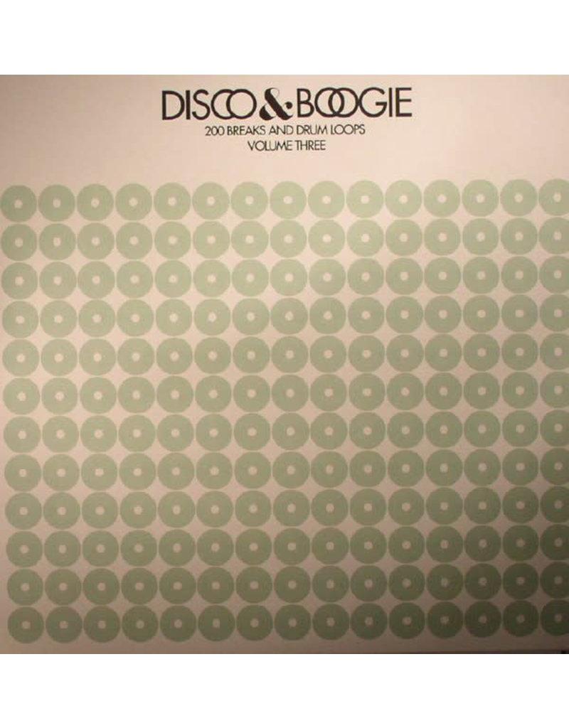 BB Various – Disco & Boogie: 200 Breaks And Drum Loops Volume 3 LP