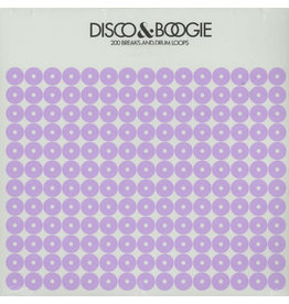 BB Various ‎– Disco & Boogie: 200 Breaks And Drum Loops Volume 4 LP