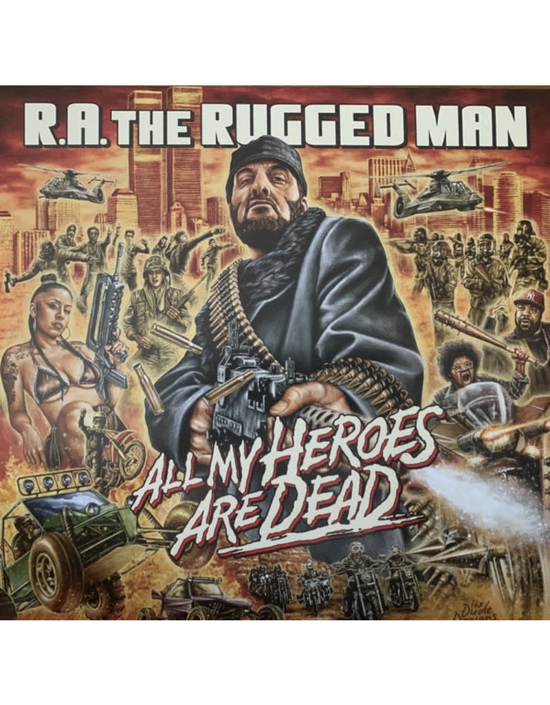 R.A. The Rugged Man – All My Heroes Are Dead 3LP