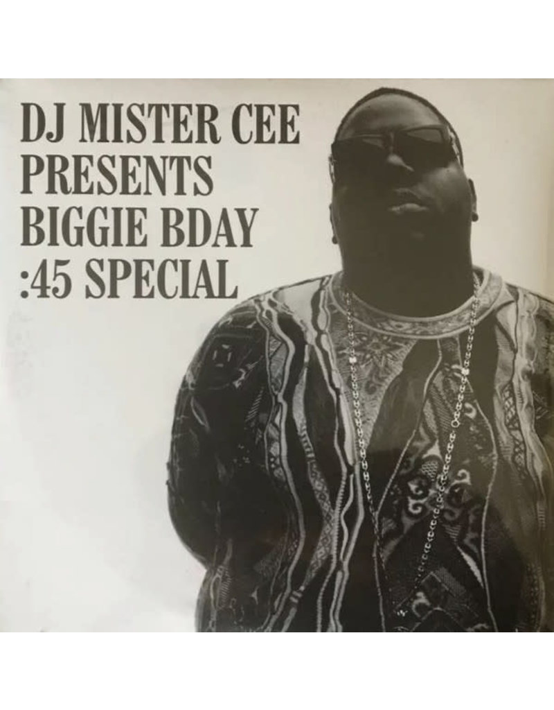 """The Notorious B.I.G. - Where Brooklyn At (Madison 5 5 0 9.62 48.10 Square Garden Freestyle) feat. 2Pac b/w The Wickedest Freestyle For Mister Cee 7"""""""