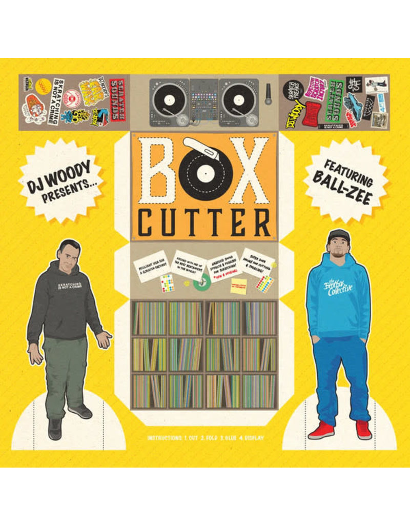 DJ Woody feat. Ball-Zee ‎– Box Cutter LP