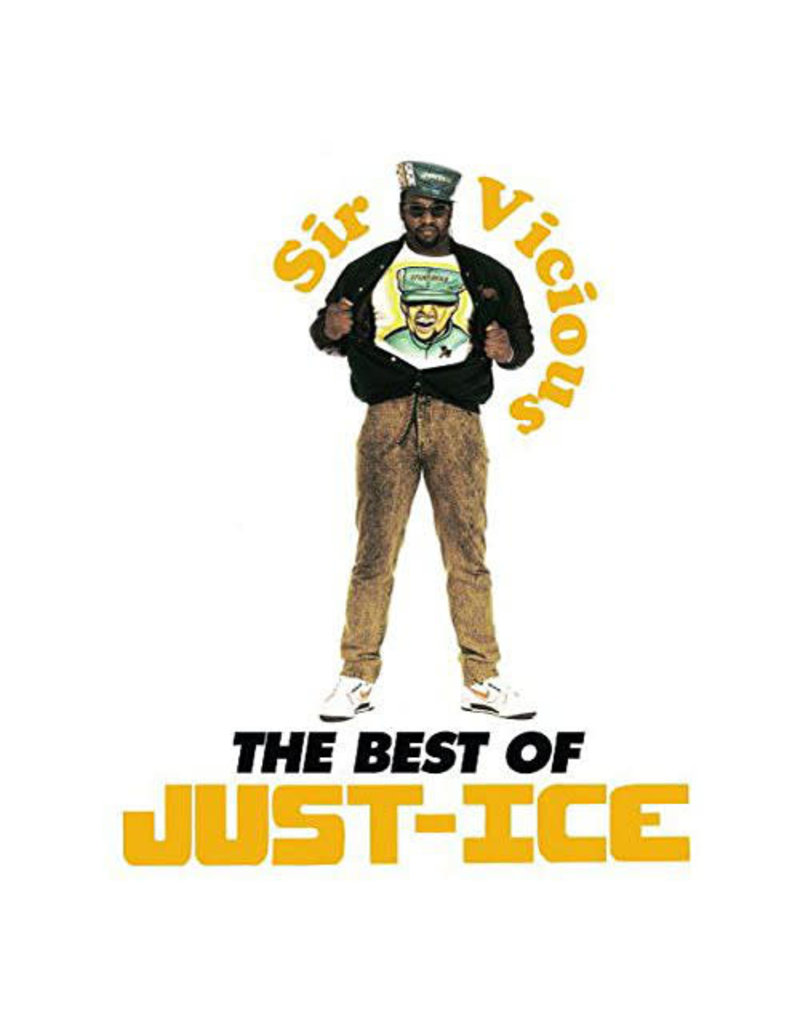 Just-Ice ‎– Sir Vicious: The Best Of Just-Ice 2LP