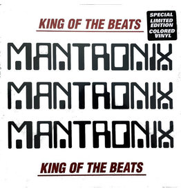 HH Mantronix ‎– King Of The Beats: Anthology 1985 - 1988 2LP