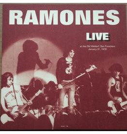 RK Ramones – Live At The Old Waldorf, San Francisco Januari 31, 1978 LP