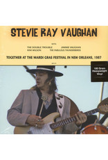 Stevie Ray Vaughan ‎– Together At The Mardi Gras Festival In New Orleans, 1987 LP
