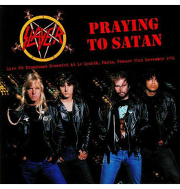 Slayer ‎– Praying To Satan: Live FM Broadcast Recorded At Le Zenith, Paris, France 22nd November 1991 LP