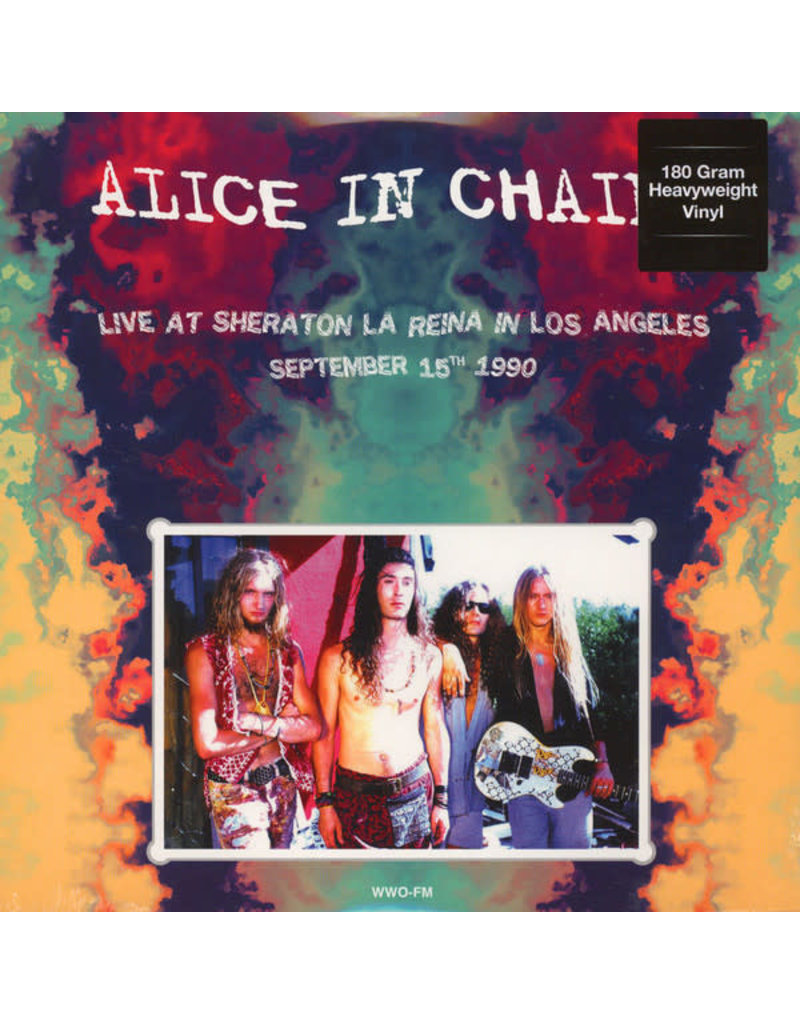 Alice In Chains ‎– Live At Sheraton La Reina In Los Angeles, September 15th 1990 LP