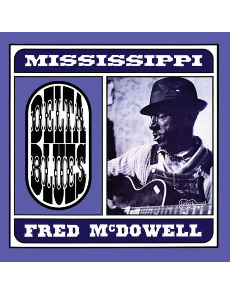 Mississippi Fred McDowell ‎– Delta Blues LP