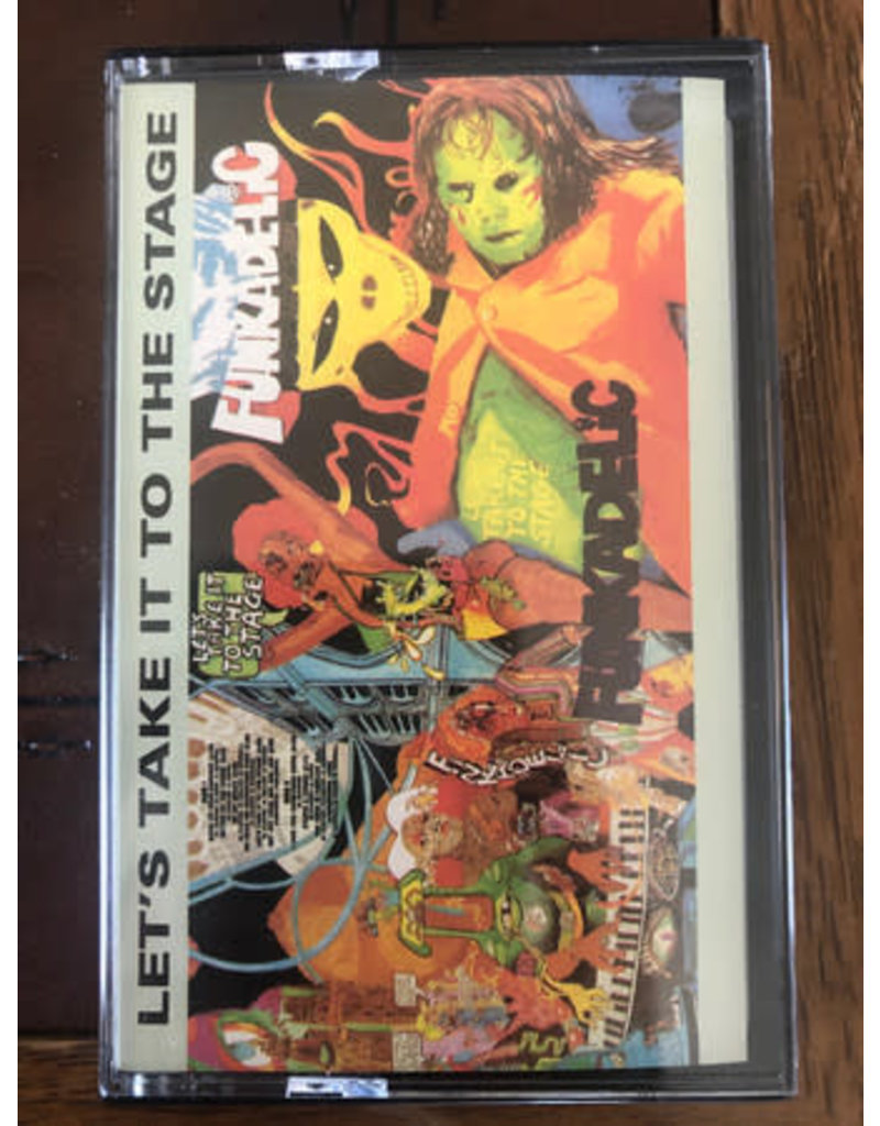 Funkadelic – Let's Take It To The Stage Cassette