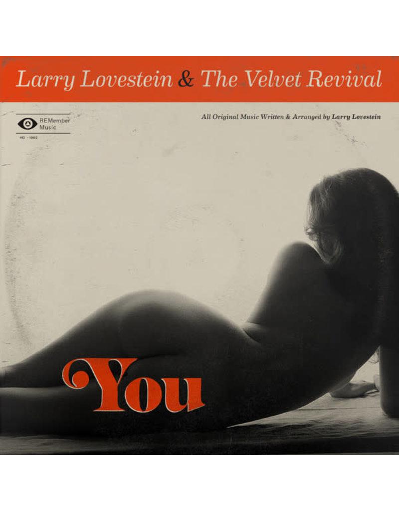 """JZ Larry Lovestein & The Velvet Revival – You 12"""""""