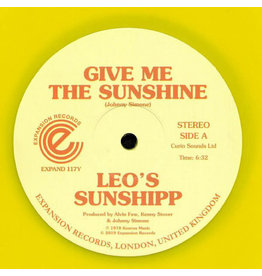 Leo's Sunshipp ‎– Give Me The Sunshine (Yellow Vinyl) 12""