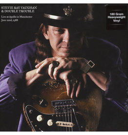 Stevie Ray Vaughan & Double Trouble ‎– Live At Apollo In Manchester June 22nd, 1988 LP