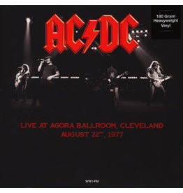 AC/DC ‎– Live At Agora Ballroom, Cleveland, August 22, 1977 LP