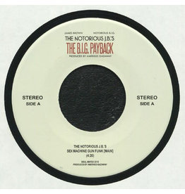 "The Notorious J.B.'s – Sex Machine Gun Funk 7"" (2020)"