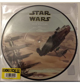 ST John Williams ‎– Star Wars: The Force Awakens (March Of The Resistance / Rey's Theme) 10""