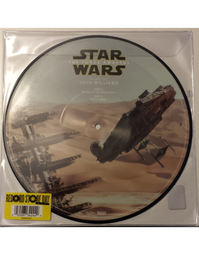John Williams ‎– Star Wars: The Force Awakens (March Of The Resistance / Rey's Theme) 10""