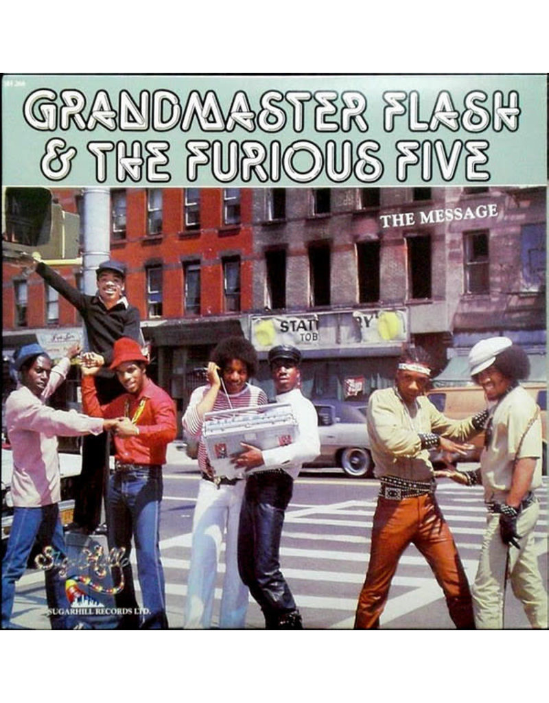 HH Grandmaster Flash & The Furious Five ‎– The Message LP