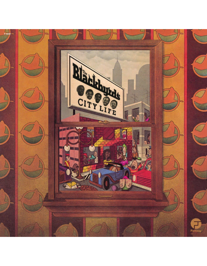 FS The Blackbyrds – City Life LP