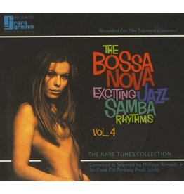 Various ‎– The Bossa Nova Exciting Jazz Samba Rhythms - Vol. 4 LP