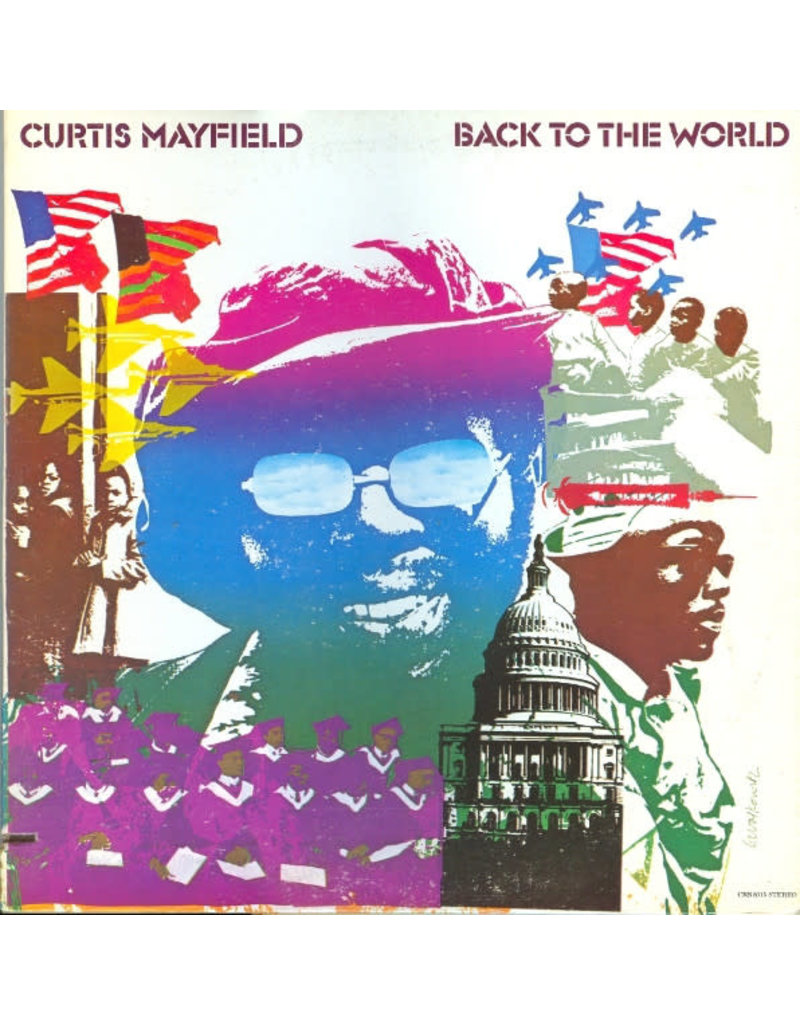 FS Curtis Mayfield – Back To The World LP