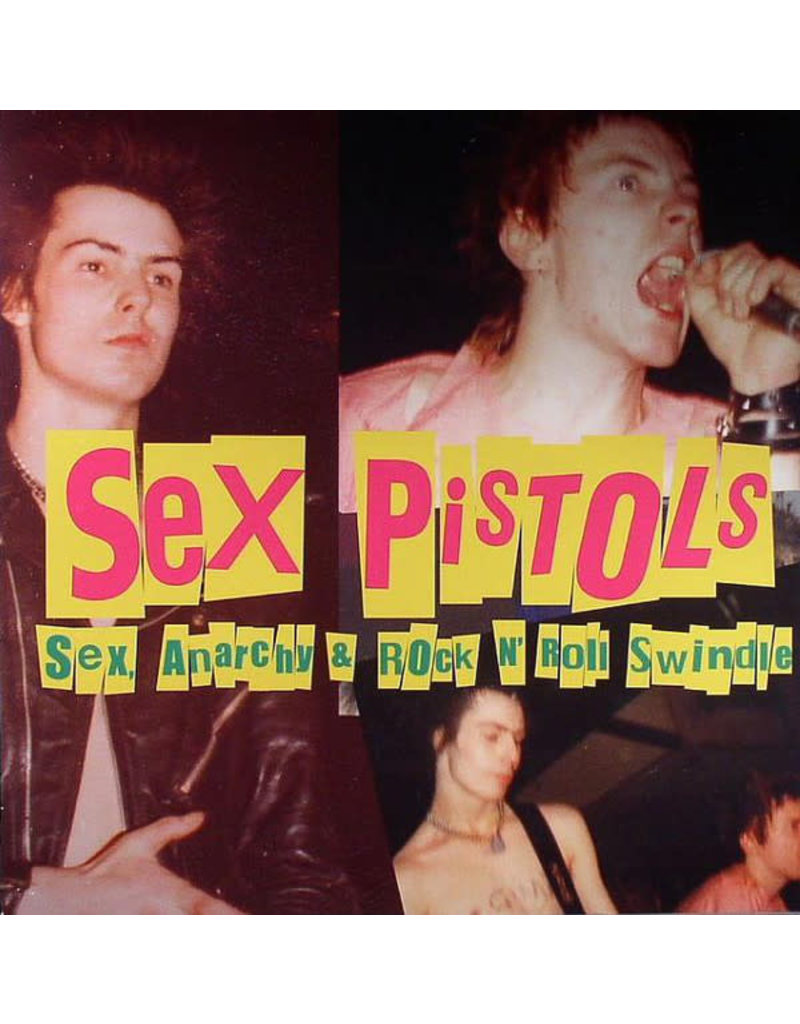 RK Sex Pistols ‎– Sex, Anarchy & Rock N' Roll Swindle LP