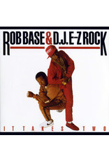 HH Rob Base & D.J. E-Z Rock ‎– It Takes Two LP (2018), Red Vinyl
