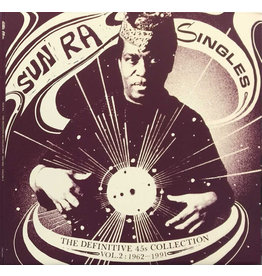 JZ Sun Ra ‎– Singles Volume 2: The Definitive 45s Collection 1962-1991 3LP