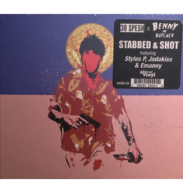 38 Spesh & Benny The Butcher ‎– Stabbed & Shot CD