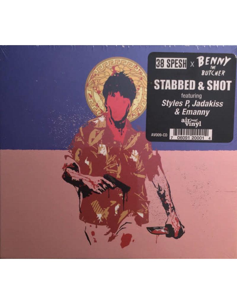 38 Spesh & Benny The Butcher – Stabbed & Shot CD